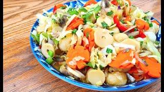 Stir Fry Chinese Vegetables | Vegan Recipes