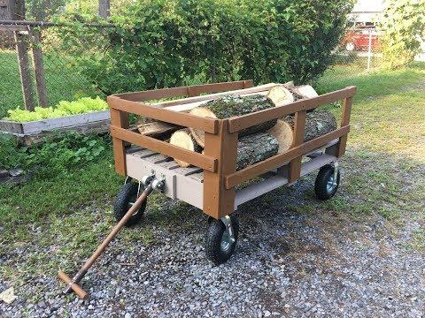DIY Pallet Wagon