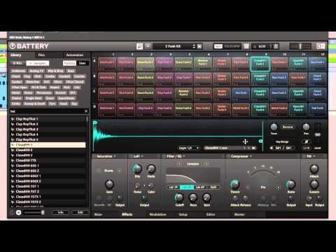 NI Battery 4 Drum Sampler Review