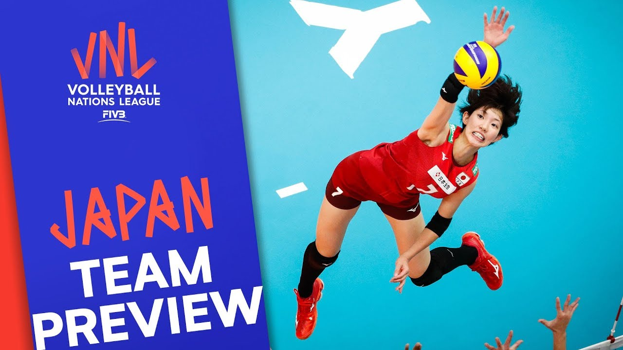 Japan Women Team Preview Volleyball Nations League 2019 Youtube