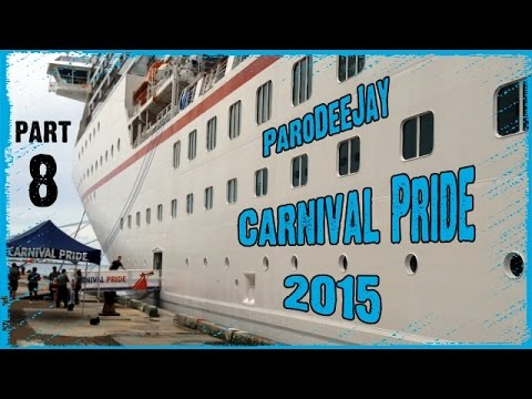 Carnival Pride Cruise Vlog 2015 - Final Thoughts, Bloopers & Outtakes - ParoDeeJay