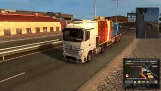 Crash mit der Polizei ( ETS 2 3 XXL Version )