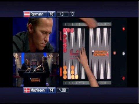 I won €45,000 at backgammon