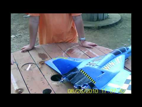 EXTREME RC ELECTRIC PLANE MULTIPLEX TWINJET, ¡2600 WATS!, 188 AMP, PASS TO 220 KMH wmv