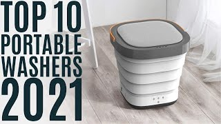 Top 10: Best Portable Washing Machines of 2021 / Portable Washer with Spin Dryer / Laundry Washer