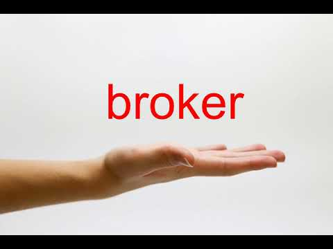 How to Pronounce broker - American English