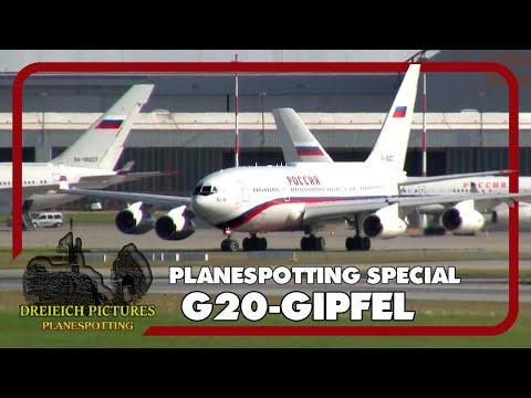 Planespotting Special | G20-Gipfel Hamburg 2017