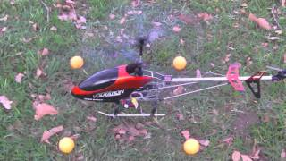 FLYING MY VOLUTATION RC HELICOPTER OUTDOOR.mp4