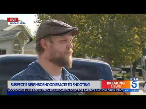 MORNING NEWS - Neighbor Talks About School Shooter