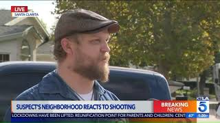 Neighbor Describes Suspect in Saugus High School Shooting
