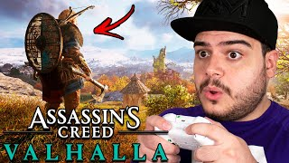 OLHA COMO VAI SER O GAMEPLAY DE ASSASSIN'S CREED VALHALLA !