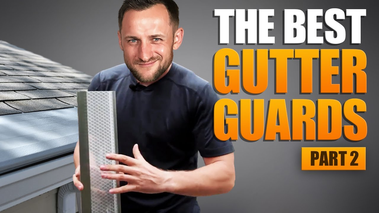 3 Best Gutter Guards Micro Mesh Leafguard Screens Youtube