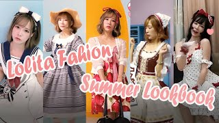 【ErokoChiba】Lolita Fashion  Costume | 5 Date Outfit Ideas | Summer Lookbook | In Shanghai |五等分の千葉