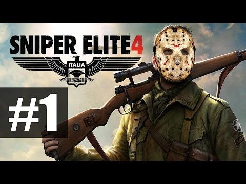 Sniper Elite 4 - Прохождение на русском - часть 1 - Итальянские красоты