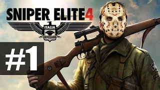 Sniper Elite 4  Прохождение на русском  часть 1  Итальянские красоты Хочешь продолжения Ставь лайк Группа вконта
