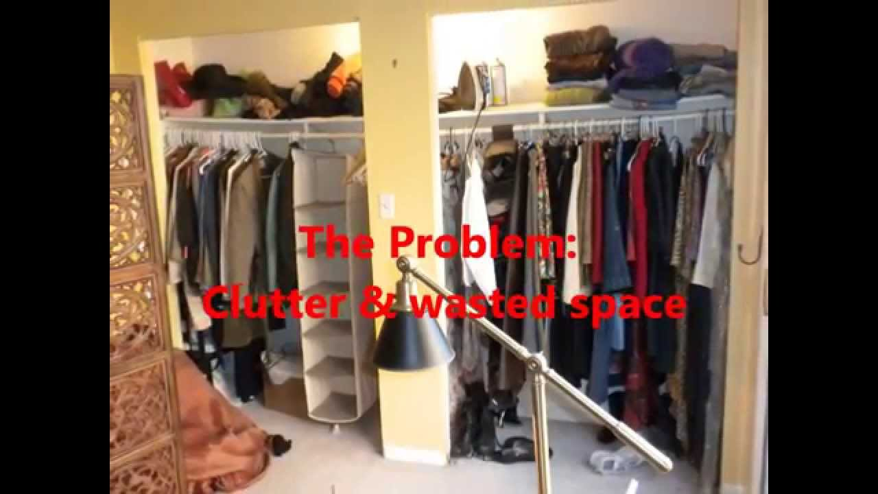 Superb DIY Closet Makeover (economical Organization, With A Sitting Area Too!)    YouTube
