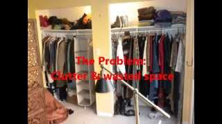Diy Closet Makeover (economical Organization, With A Sitting Area Too!)