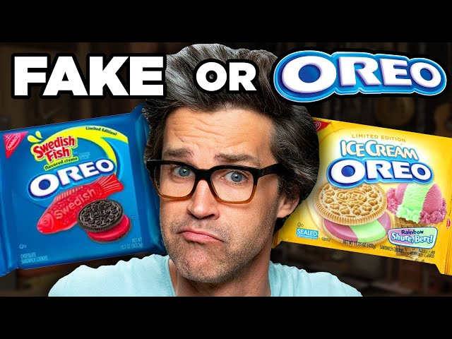 Crazy Oreo Flavors (Game)