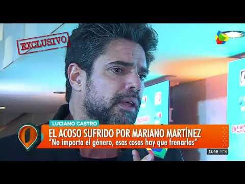 Luciano Castro habló del acoso a Mariano Martínez