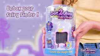 How To Unbox Your Got2Glow Fairy Finder! | By WowWee