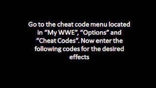 WWE Smackdown VS Raw 2011 Cheats Xbox 360 PS3 PSP Wii