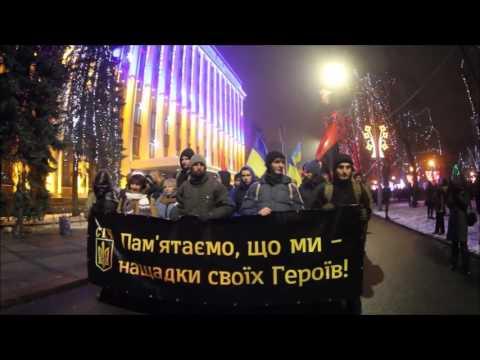 "Unity of time & place. Hanukkah & Stepan Bandera in the ""Jewish capital"" of Ukraine, Dnepropetrovsk"