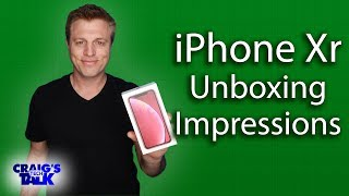 New Product Red iPhone Xr  Unboxing and First Impressions