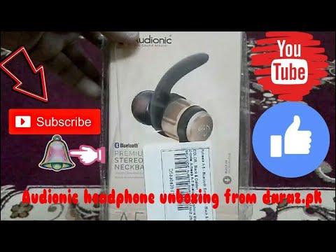 Audionic Bluetooth headphone unboxing from daraz.pk