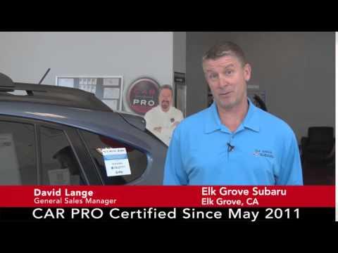 Elk Grove Subaru >> Car Pro Testimonial Dave Lang Elk Grove Subaru 9 15