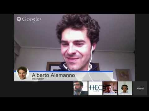 Understanding Europe with Alberto Alemanno - May, 28 2014