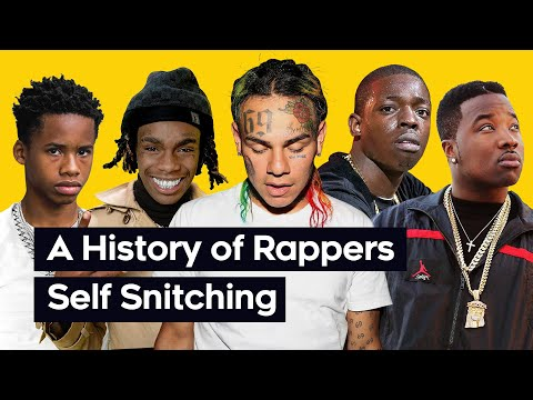 A History Of Rappers Snitching On Themselves