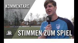 Die Stimmen zum Spiel | SV Curslack-Neuengamme - SV Altengamme (Testspiel)