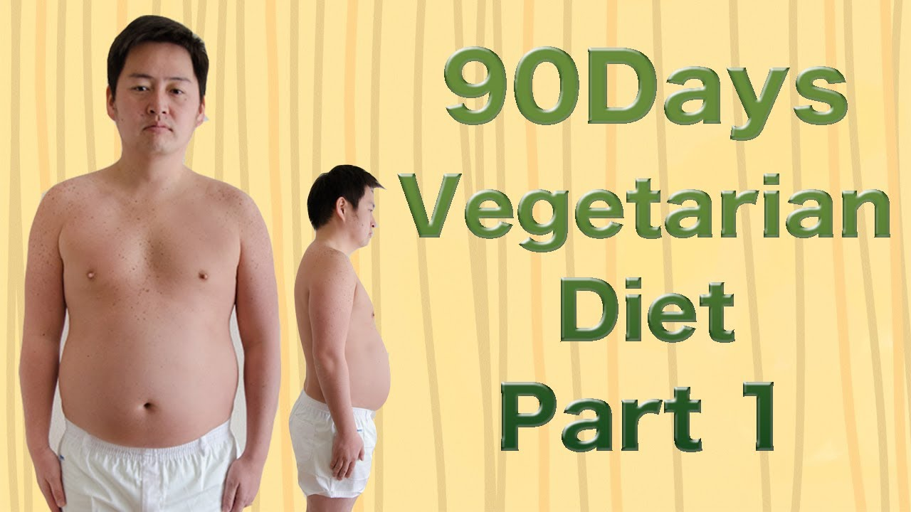 90 Days Vegetarian Diet part 1 - YouTube