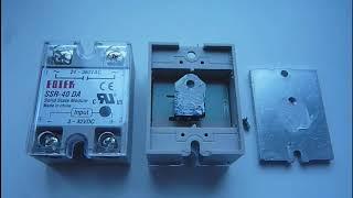 Твердотельные реле FOTEK нагревают, при работе с инфракрасными нагревателями переменного тока различ