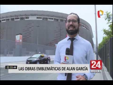 Estas fueron las principales obras del segundo gobierno de Alan García