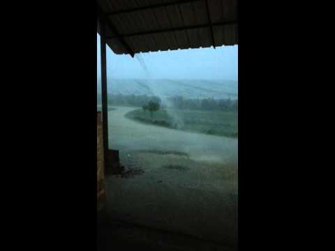 France storm Benac Beaumont-de-Lomagne 08.08.2014