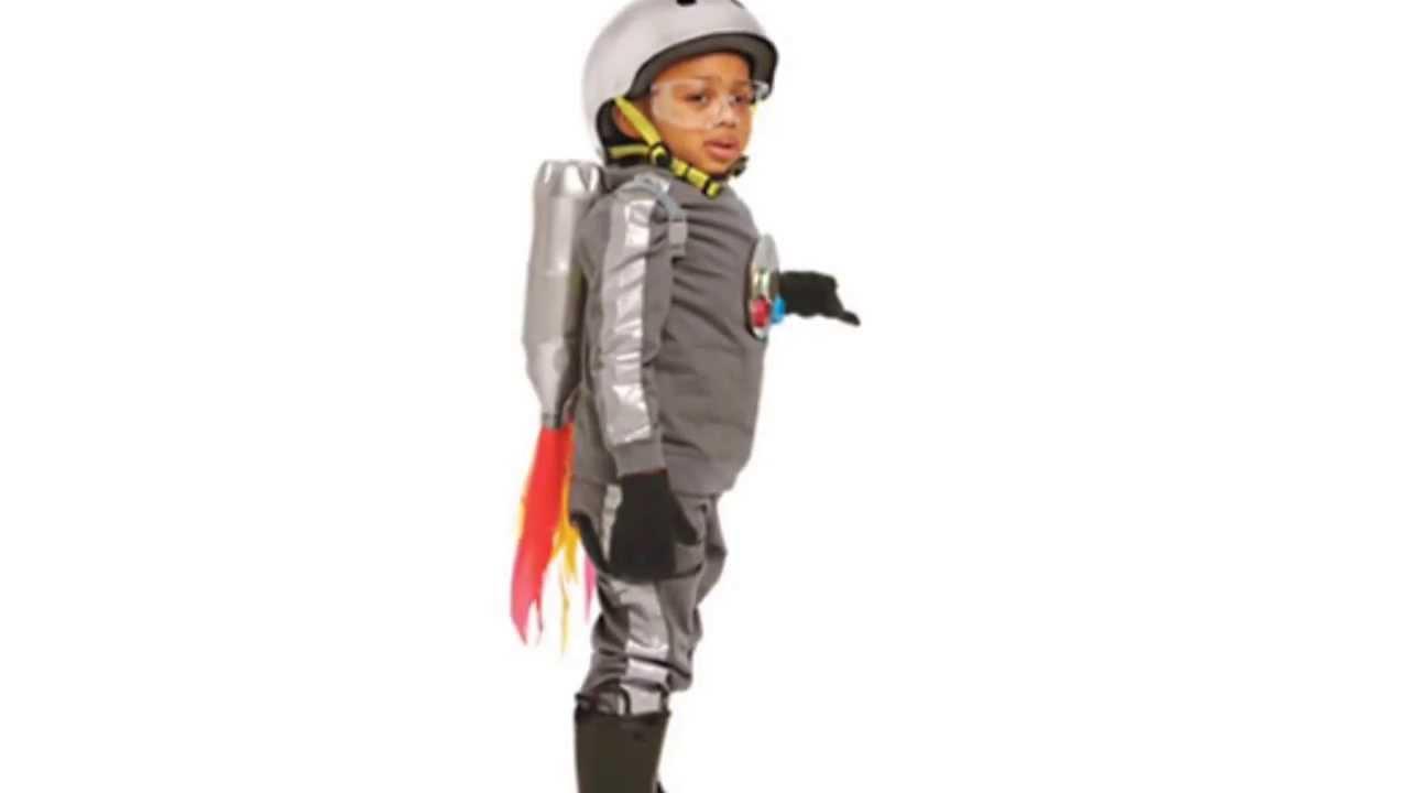 Carole\'s Crafts: Rocket Man Kids Costume - YouTube