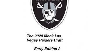 2020 Mock Las Vegas Raiders Draft: Early Edition 2
