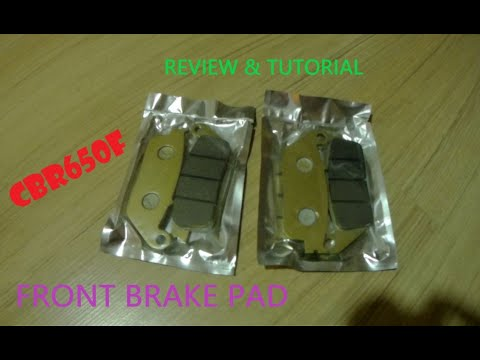 Installation, Tutorial & Brake Review CBR650F Front Brake Pad