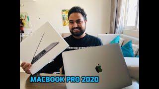 Unboxing Apple MacBook Pro 2020