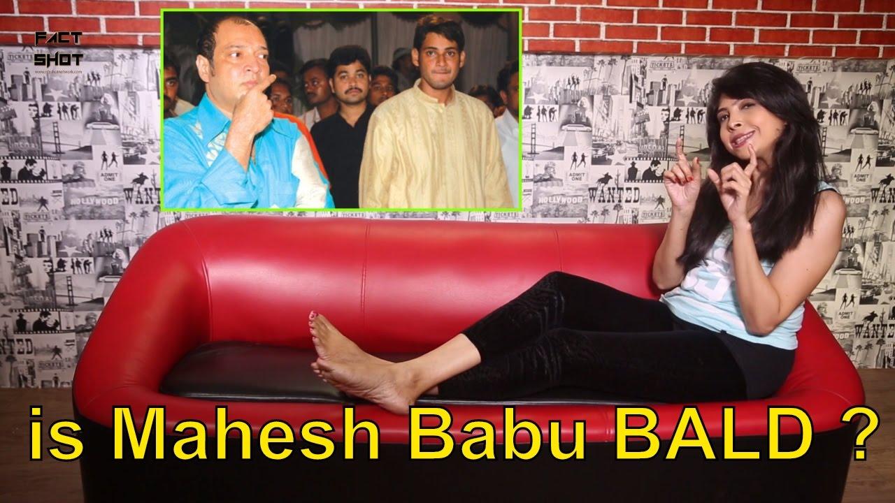 prince mahesh babu - bald headed, and undergone hair transplant