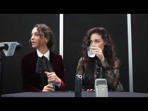 Stella Maeve and Jade Tailor for The Magicians at NYCC 2016
