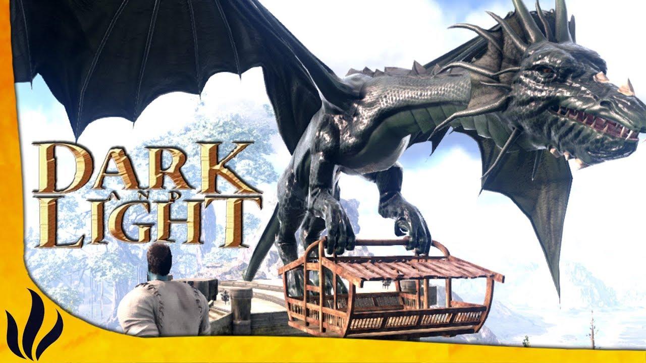 Dark and Light FR #9 - LE DRAGON DE TRANSPORT ! - YouTube