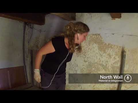 Gibraltar Convent Murals restoration video full