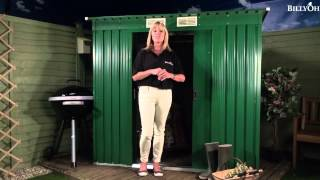 Billyoh Sutton Pent Roof Metal Shed