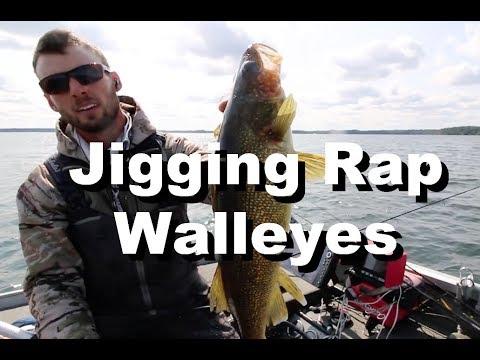 My Favorite Walleye Lure - Jigging Rap Tips