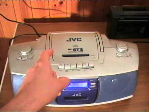 Drunk Jvc Cassette Recorder  Eats Tapes  And Other Things