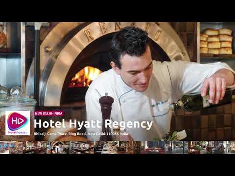 Hotel Hyatt Regency New Delhi India - Hotel Videos