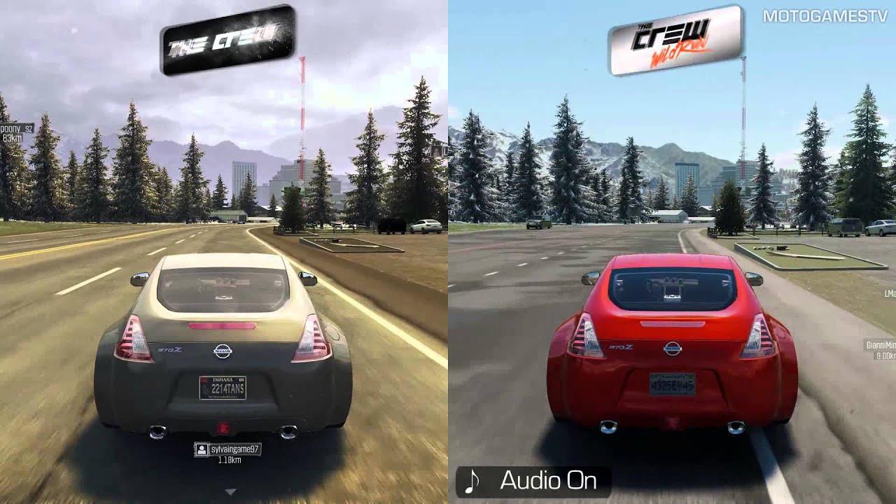 The Crew vs The Crew Wild Run [PC Beta] - Graphics Comparison