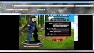 AQ Dünyalar üzerinde yeni bir hesap yapmak için nasıl